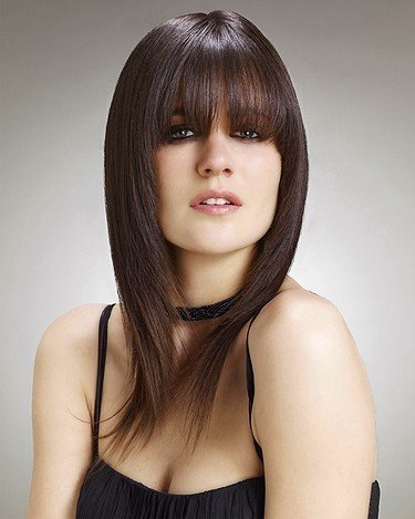 Bespoke Hairdressing Rugby Soft fringe