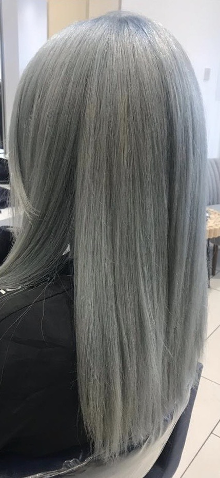 Bespoke Hairdressing Rugby icy silver
